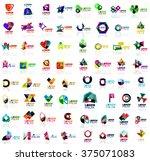 mega set of geometrical...   Shutterstock .eps vector #375071083