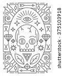 linear abstract vector...   Shutterstock .eps vector #375103918