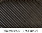 black used rough cast iron... | Shutterstock . vector #375110464