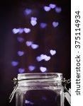 Love Magic Bottle On Blurred...