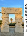 "sculpture ""gate of faith"" in...   Shutterstock . vector #375134074"