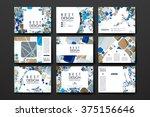 set of modern design banner... | Shutterstock .eps vector #375156646