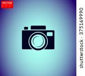 camera  vector icon.