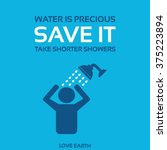 Water Is Precious Save It Take...