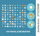 travel  tourism  vacation ... | Shutterstock .eps vector #375225088