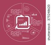infographics for business... | Shutterstock .eps vector #375248620