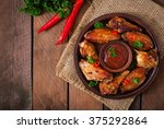 sour sweet baked chicken wings