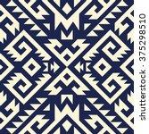 tribal navajo vector seamless... | Shutterstock .eps vector #375298510