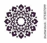 mandala. islam  arabic  asian... | Shutterstock .eps vector #375307099