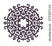 mandala. islam  arabic  asian...   Shutterstock .eps vector #375307114