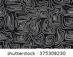 tribal seamless pattern. ethnic ... | Shutterstock .eps vector #375308230