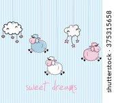 Sweet Dreams Design  Vector...