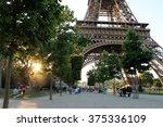 paris. paris in summer. paris... | Shutterstock . vector #375336109