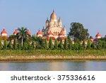 dakshineswar kali temple is a...   Shutterstock . vector #375336616