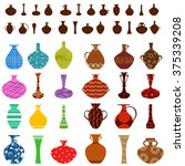 collection of vases for your...   Shutterstock .eps vector #375339208