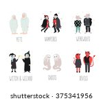 fairytaile and fantastic... | Shutterstock .eps vector #375341956