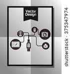 technology icon design  | Shutterstock .eps vector #375347974