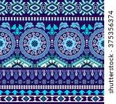 striped seamless pattern.... | Shutterstock .eps vector #375356374
