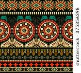 striped seamless pattern.... | Shutterstock .eps vector #375356398