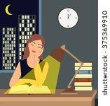Girl Reading A Book Under A...