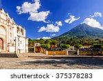 san juan del obispo  guatemala  ...   Shutterstock . vector #375378283
