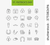line happy saint patrick day...