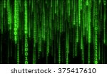 Cyberspace With Green Digital...