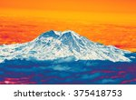 Mount Rainier With Fresh Snow...