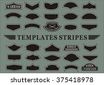 templates stripes | Shutterstock .eps vector #375418978