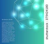 science 2016. vector image.... | Shutterstock .eps vector #375424180