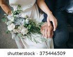 wedding. the girl in a white...   Shutterstock . vector #375446509