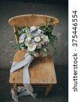 bridal bouquet. the bride's... | Shutterstock . vector #375446554