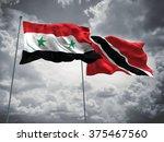 syria   trinidad and tobago... | Shutterstock . vector #375467560