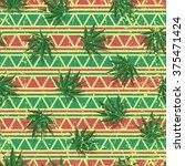 african marijuana seamless... | Shutterstock .eps vector #375471424