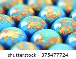 global communication ... | Shutterstock . vector #375477724