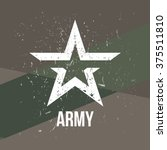 army   military stamp  label ... | Shutterstock .eps vector #375511810