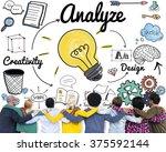analysis analytics study...   Shutterstock . vector #375592144