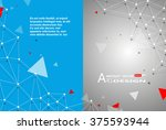 abstract composition  text... | Shutterstock .eps vector #375593944