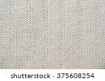 salmon red  orange knitted... | Shutterstock . vector #375608254