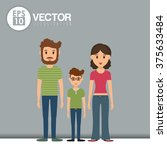 family icon design  | Shutterstock .eps vector #375633484