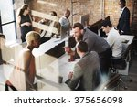 business people design... | Shutterstock . vector #375656098