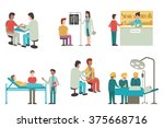 vector illustration set of... | Shutterstock .eps vector #375668716