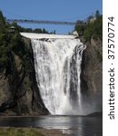 The Montmorency Falls Or Chutes ...