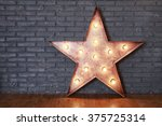 Decorative Wooden Star With Ol...