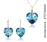Jewelry Set With Swarovski...