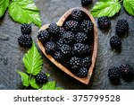 Blackberries In Bowl In The...