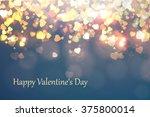 bright background valentine's... | Shutterstock .eps vector #375800014