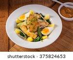 gado gado indonesian salad... | Shutterstock . vector #375824653