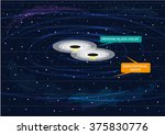 Two Black Holes Merging And...