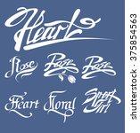 vector typographic illustration ... | Shutterstock .eps vector #375854563